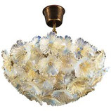Beautiful Murano Chandelier by Barovier e Toso