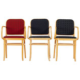 Set of Three Bentwood Dining Chairs Josef Hoffmann Style