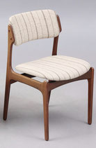 Brasilian Rosewood Dining Chair OD49 by Erik Buck