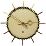 Elegant Telenorma Electric Brass Wall Clock