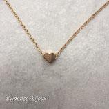 Collier petit coeur