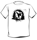 Schul-T-Shirt (für den Karate-Unterricht und Privat) mit KT-(Logo)-Druck