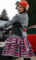 Jacke aus Loden Gr-40-42. 100% Schurwolle