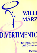 Divertimento für Tuba, Harfe und Orchester (Strings) Komplett