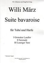 Suite bavaroise for Tuba and Harp