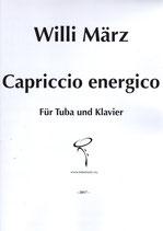 Capriccio energico for Tuba and  Piano