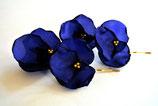Haarnadeln blaue Hortensie