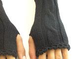 Armstulpen schwarz