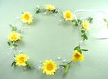 Haarkranz Hochzeit Kommunion Sonnenblume