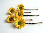 Haarnadel Sonnenblume