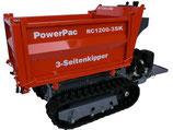 Raupen-Dumper Typ RC1200-3SK, Dreiseitenkipper