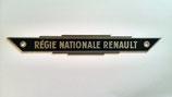 Monogramme RÉGIE NATIONALE RENAULT