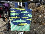 UNIKAT: Aligatortäschchen für den Lenker
