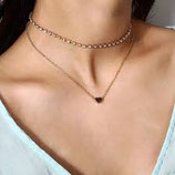 collier chaine doré ou argent