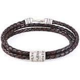 Bracelet homme oeil du tigre mat