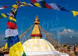 CP13_Népal : Stupa de Bodnath