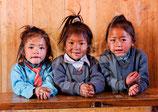 CP05_Népal : Ecolières du Solu Khumbu