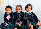 CP06_Népal : Ecolières de Katmandou