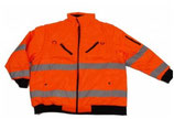 Arbeitsjacke orange
