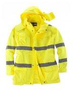Arbeitsjacke gelb