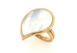 Perlmutt Ring