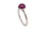 Farbstein Ring Brillant Rubin