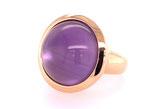 Cabochon Ring Amethyst