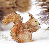 Kette Eichhörnchen, Eichhörnchen, Tier Schmuck