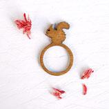 Eichhörnchen, Ring Eichhörnchen, just be happy