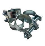 Schlauchschellen  Mini Stahl verzinkt 8-10 mm