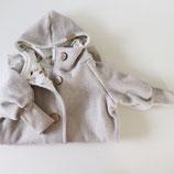 Kuscheloverall 'cuddly newborn' Fleece