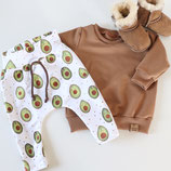 Set Buxe und Sweater 'Avocado' in 68