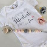 Babybody 'Patenkind' personalisiert