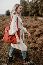 Marmah Bag Rust Red M