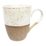 Earthware koffiemok Sandy