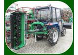 Heck-Anbaumähwerk AGL145 hydraulisch verstellbar