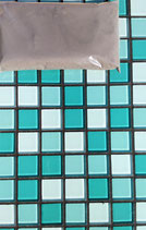 Mosaikfugenmörtel Dunkelgrau