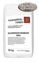 Mauerwerksfugenmörtel - GRAU