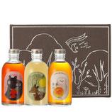 森の蜜酒(ゆず酒・うめ酒・いちごわいん)300ml×3本セット化粧箱入り