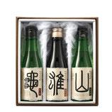 奥丹波 純米大吟醸 亀雄山 300ml×3本セット(化粧箱入り)