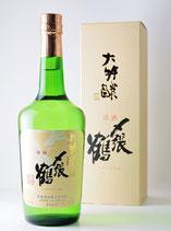 〆張鶴 大吟醸 銀ラベル DXカートン入り 720ml (極少限定品)