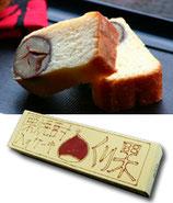 小鼓 栗果(栗焼酎入り) パウンドケーキ 260g
