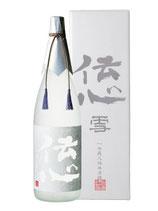 伝心 雪 純米吟醸 化粧箱付 1800ml