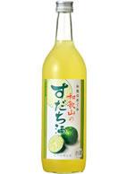 和歌のめぐみ 和歌山のすだち酒720