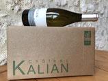 KALIAN - Bergerac Blanc Sec 2019 - du TEMPS au TEMPS (75 cl) - Elevage barriques - CARTON DE 6 BOUTEILLES