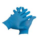 NHS 20 - Nitril Einweghandschuhe, blau