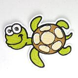 Patch Schlidkröte groß / 6,5x8cm