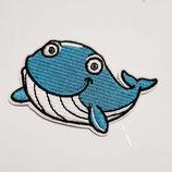 Patch Walfisch  9 x 5 cm