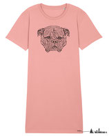 T-Shirt-Kleid Sleepy Dog