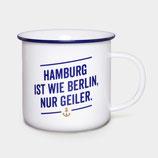 """Porzellan Kaffebecher """"Wie Berlin """""""
